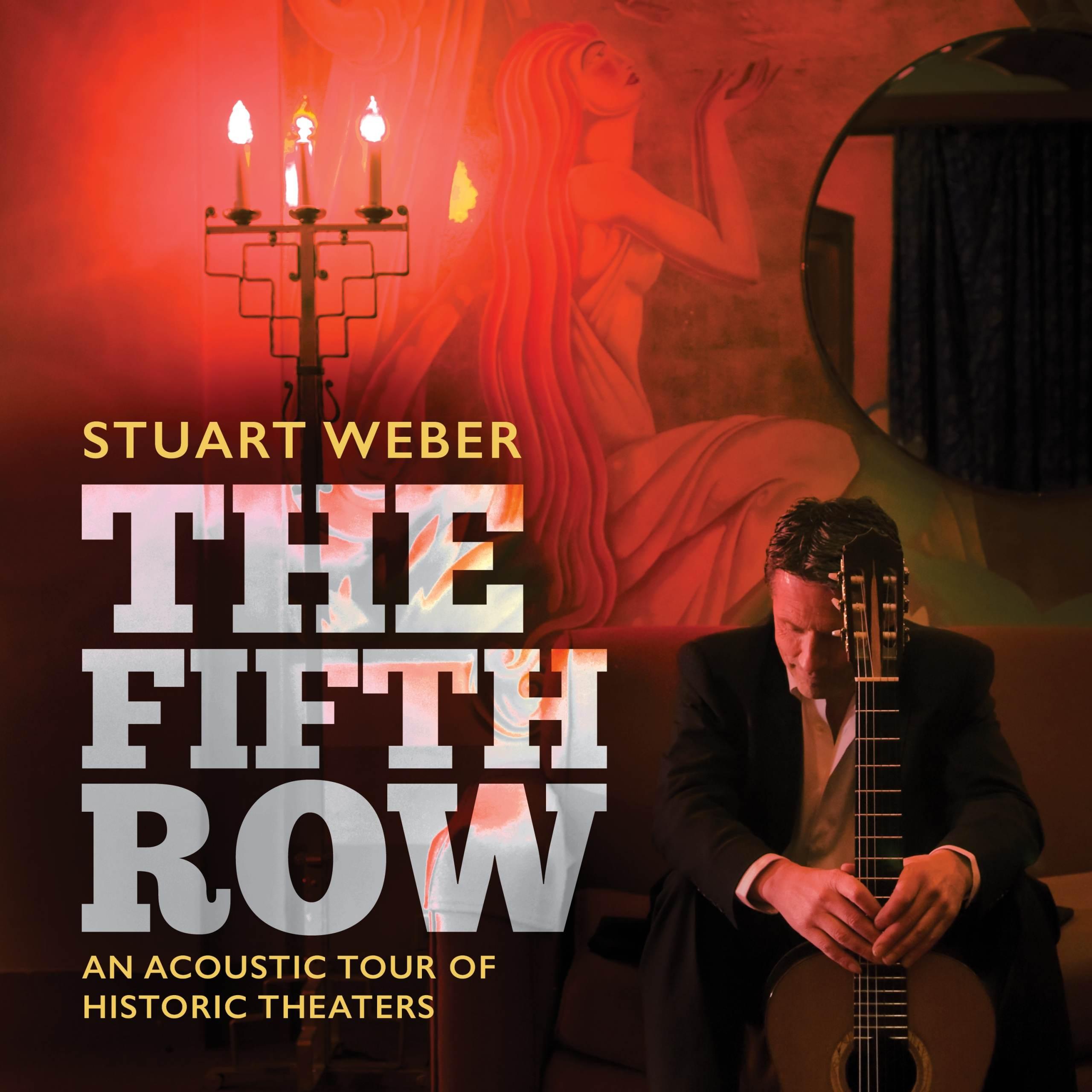 THE FIFTH ROW - Stuart Weber - album cover