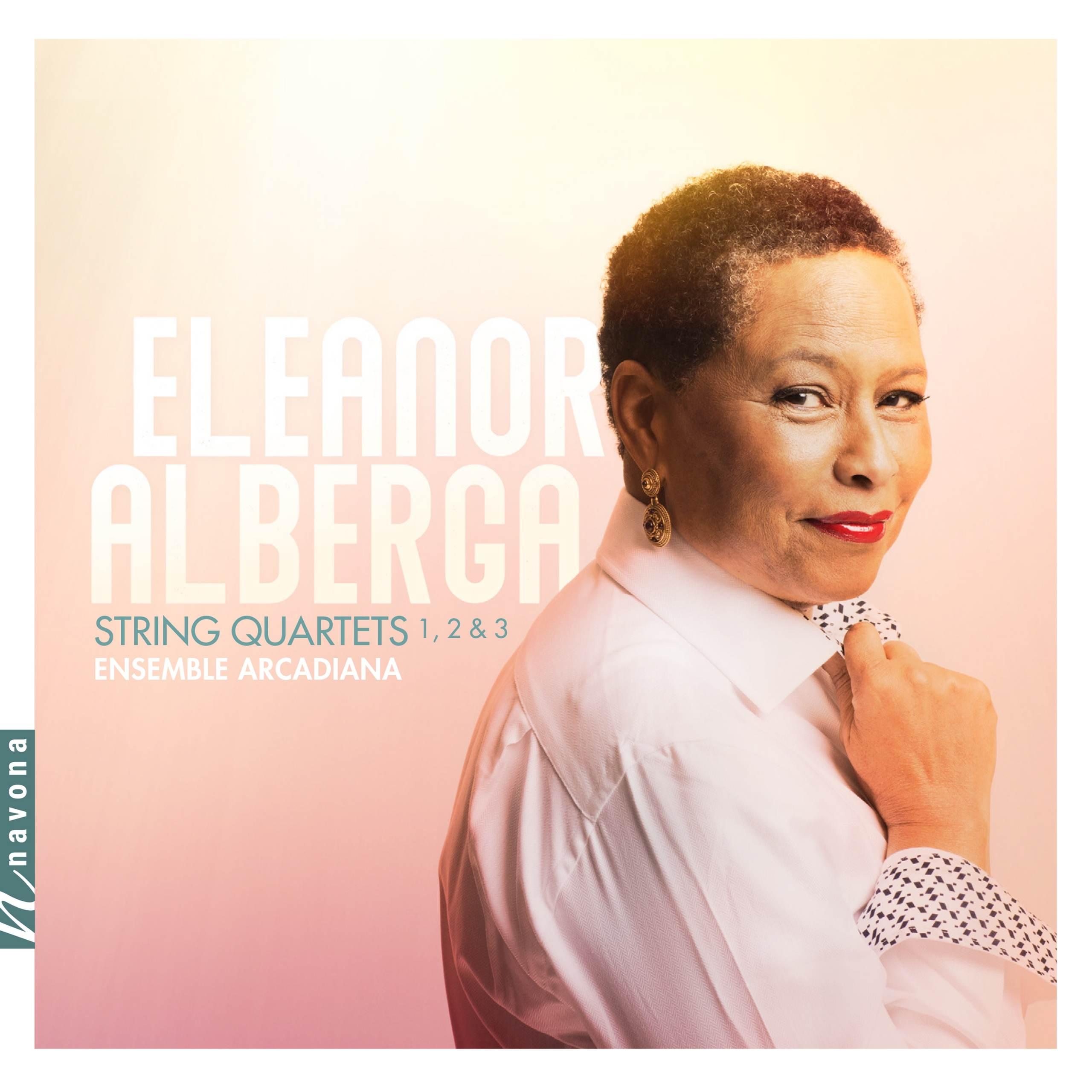 String Quartets - Eleanor Alberga - album cover