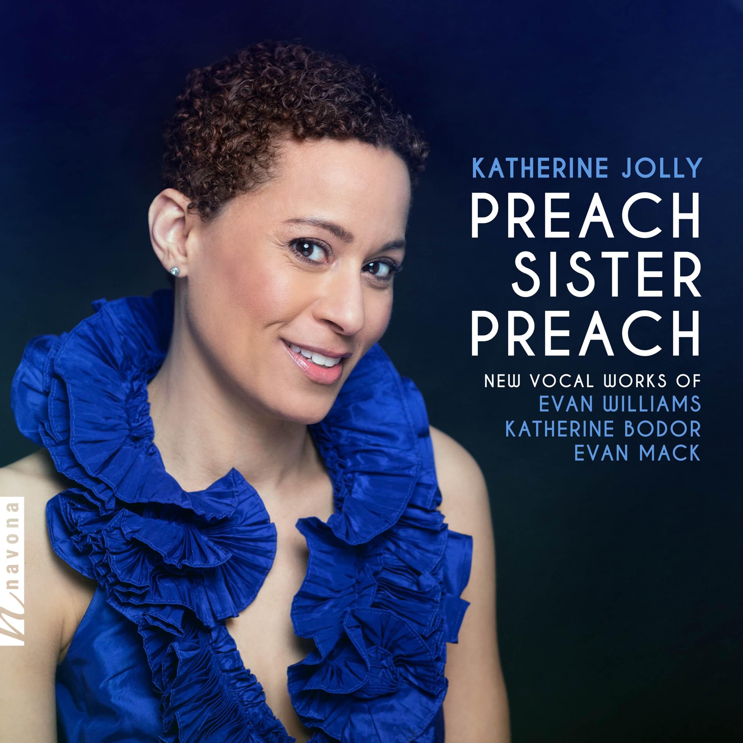 PREACH SISTER, PREACH - Katherine Jolly - Album Cover