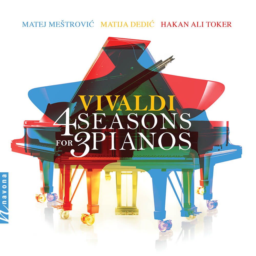 4 Seasons for 3 Pianos - Album Cover