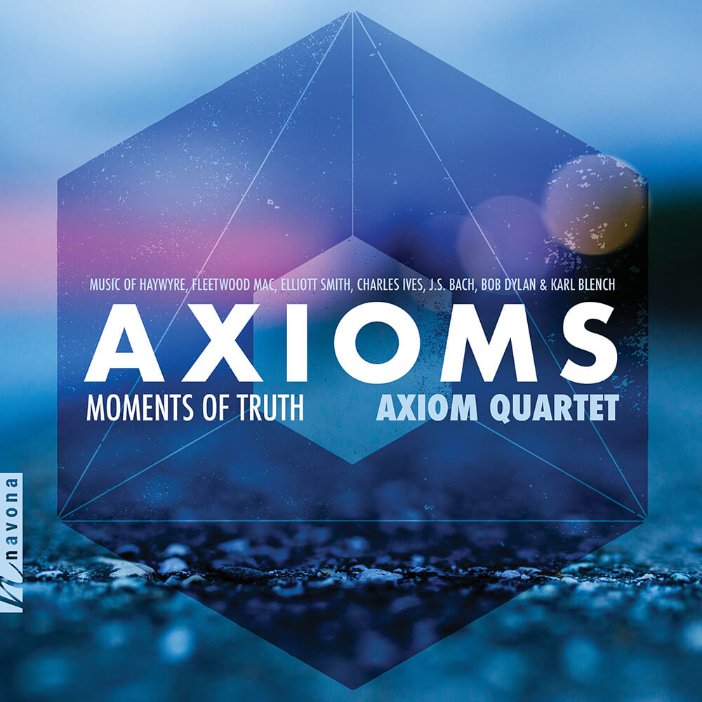Axiom Quartet - MOMENTS OF TRUTH - Album Cover