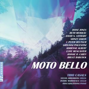 Trio Casals - MOTO BELLO - Album Cover