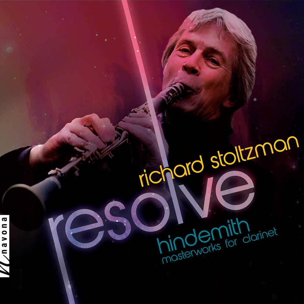 Richard Stoltzman - RESOLVE - Album Cover