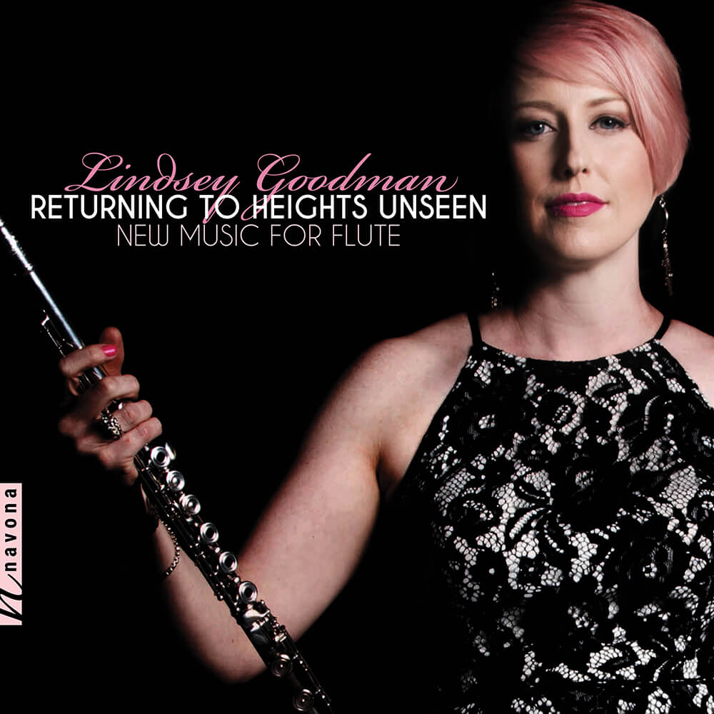 Lindsey Goodman - RETURNING TO HEIGHTS UNSEEN - Album Cover