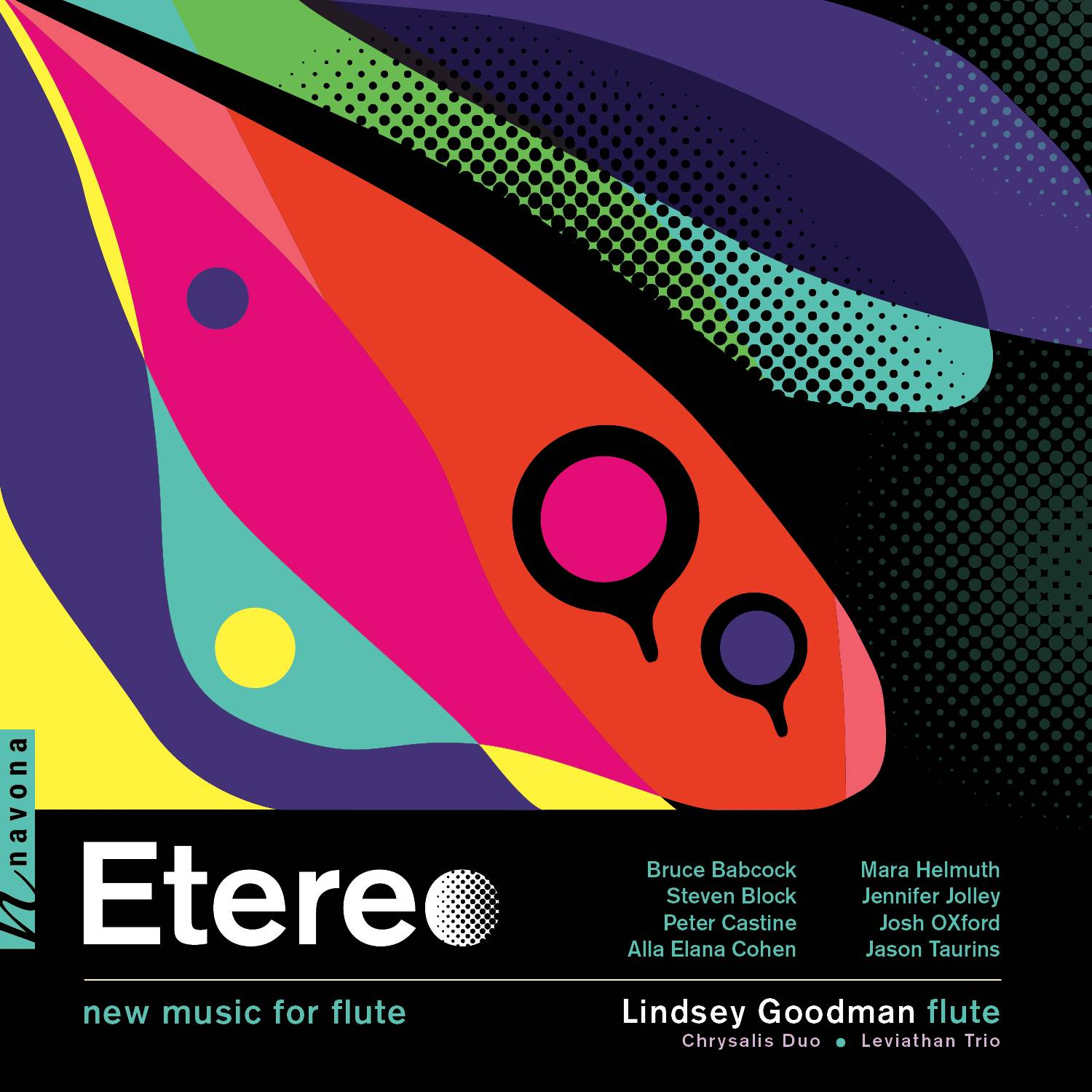 Etereo New Music for Flute, Album Cover Art