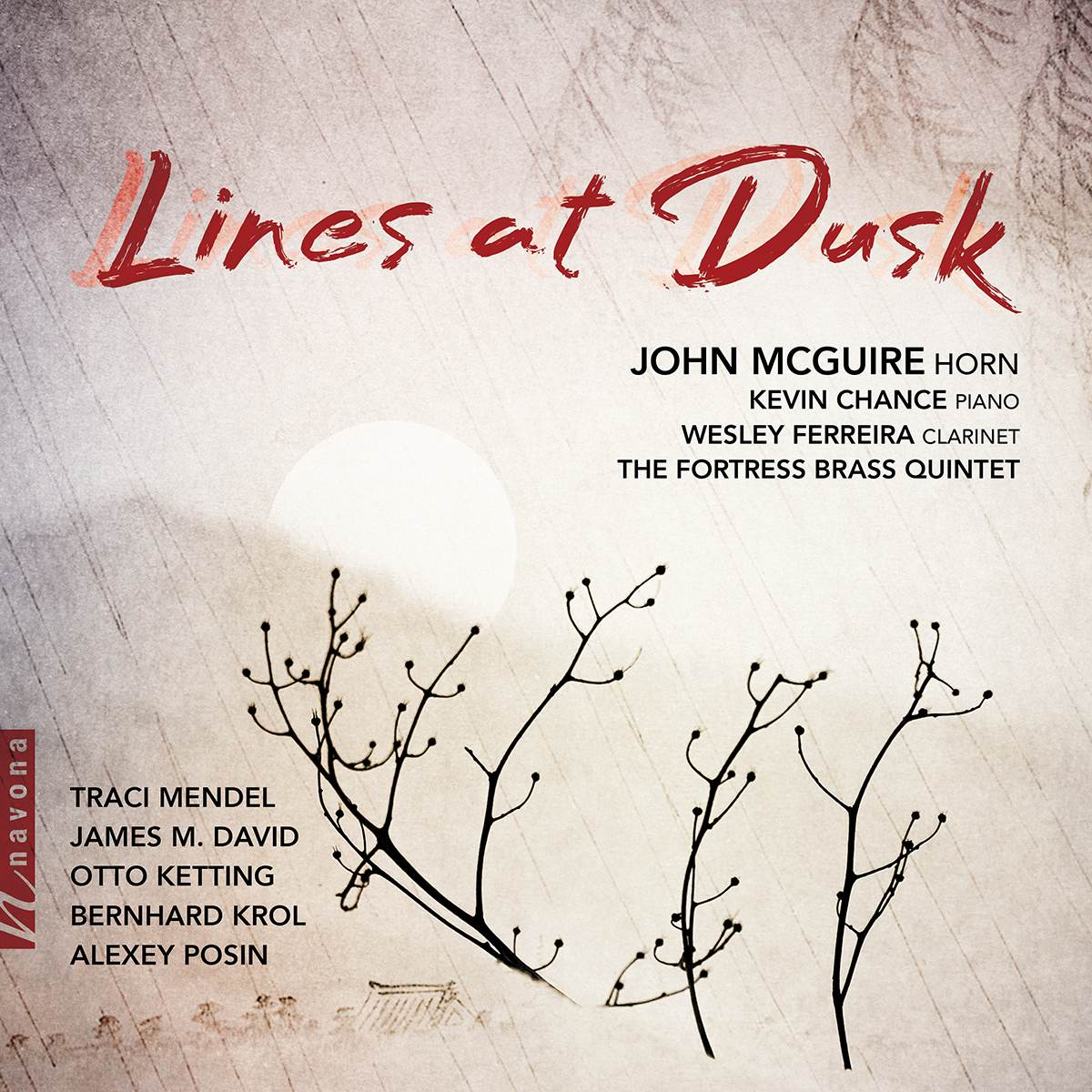 Lines at Dusk - John McGuire - Album Cover