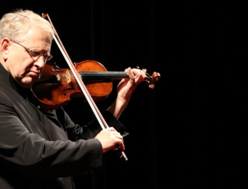 Taking the Stage: The ZFO in Concert with Shlomo Mintz