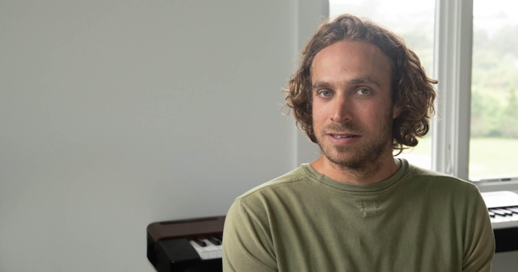 Composer Jackson Greenberg