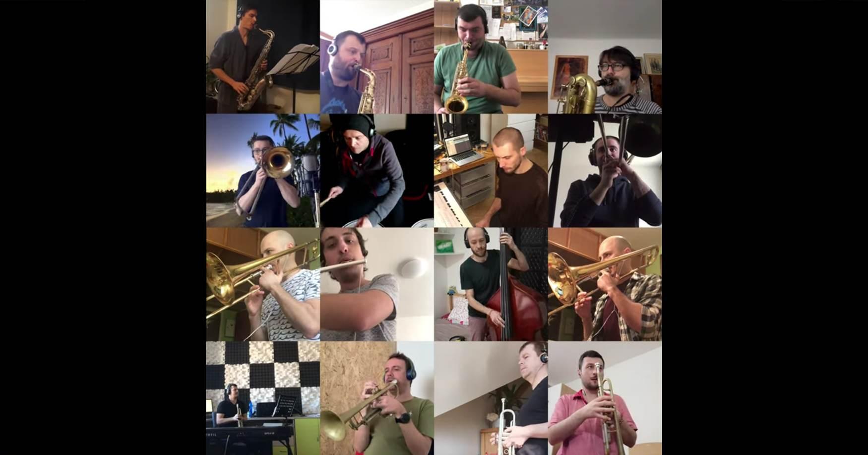 Cotatcha Orchestra Remote Recording Session