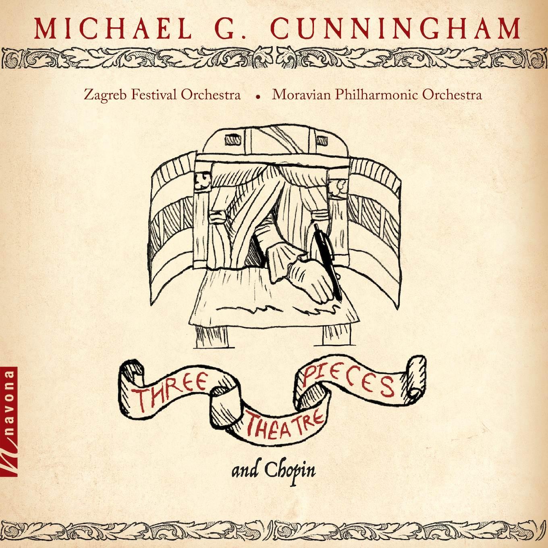 Three Theatre Pieces - Michael G. Cunningham - Album Cover