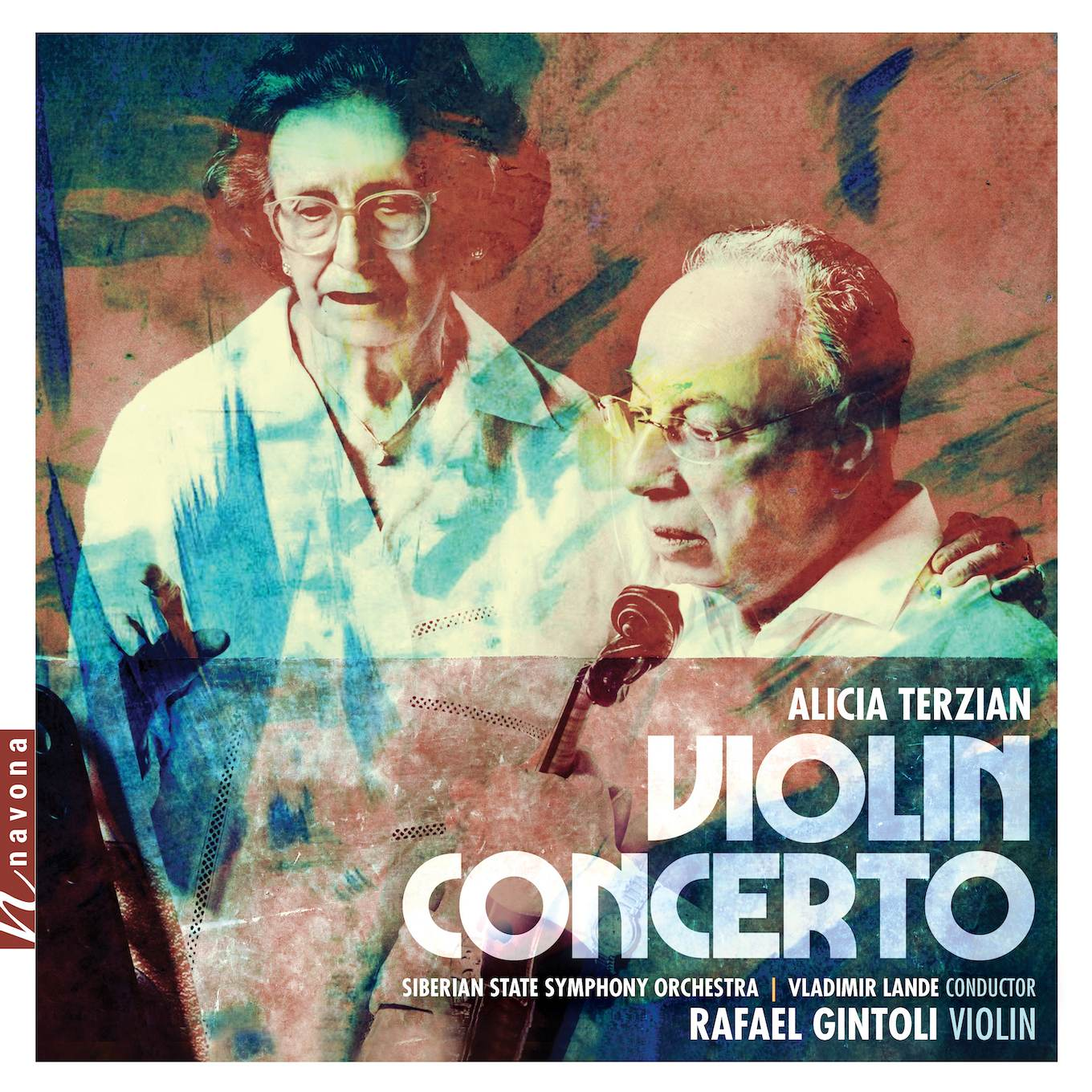 Violin Concerto - Alicia Terzian - Album Cover