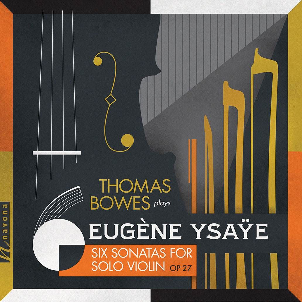 Eugene Ysaye Thomas Bowes album cover