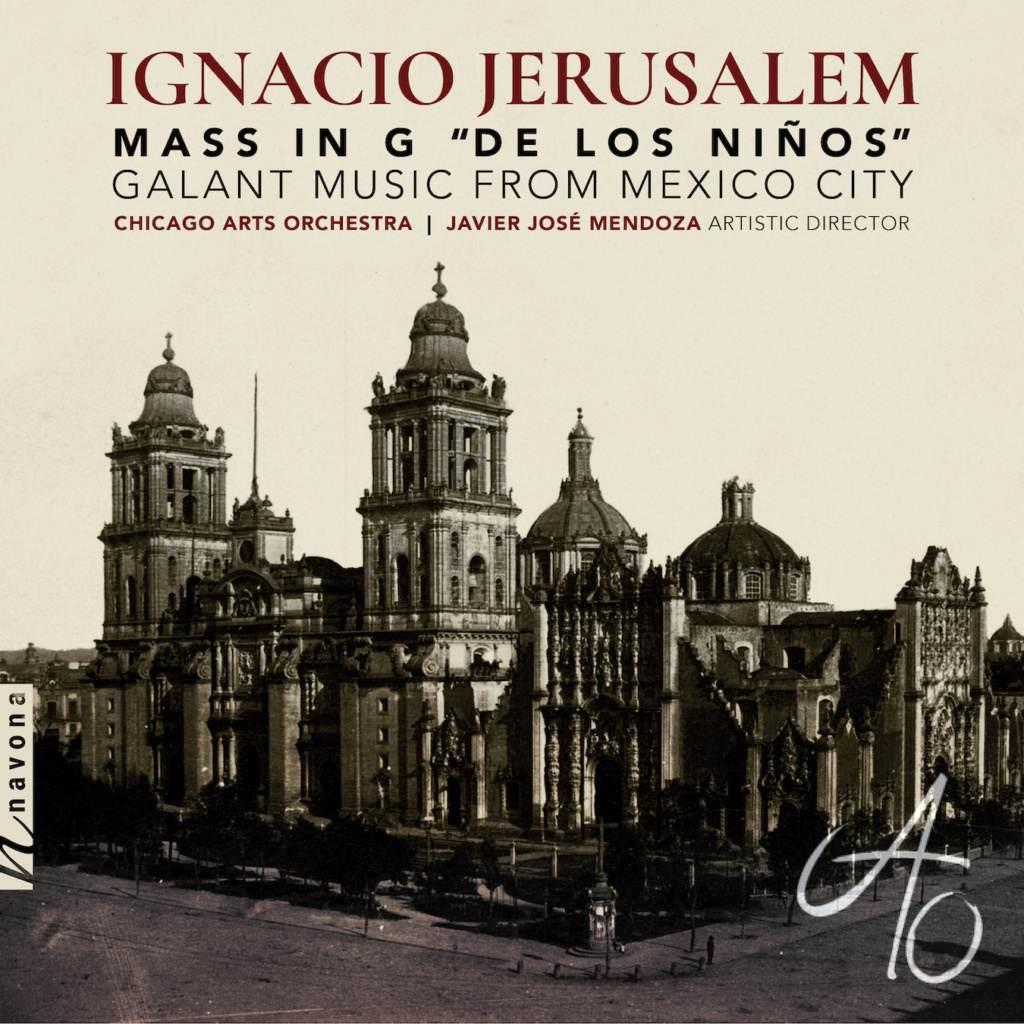 IGNACIO JERUSALEM MASS IN G - Album Cover
