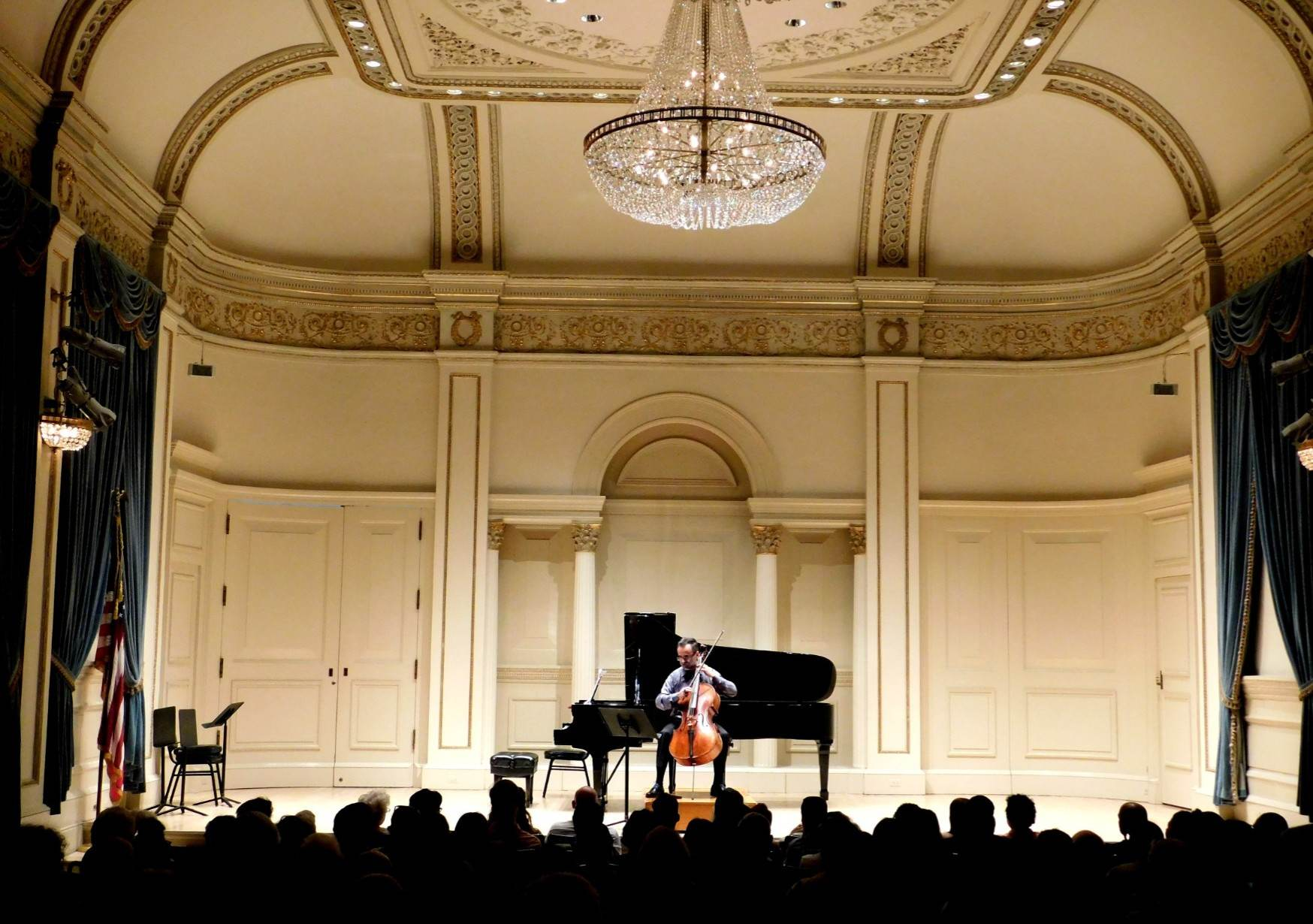 Ovidiu Performing at Carnegie Hall