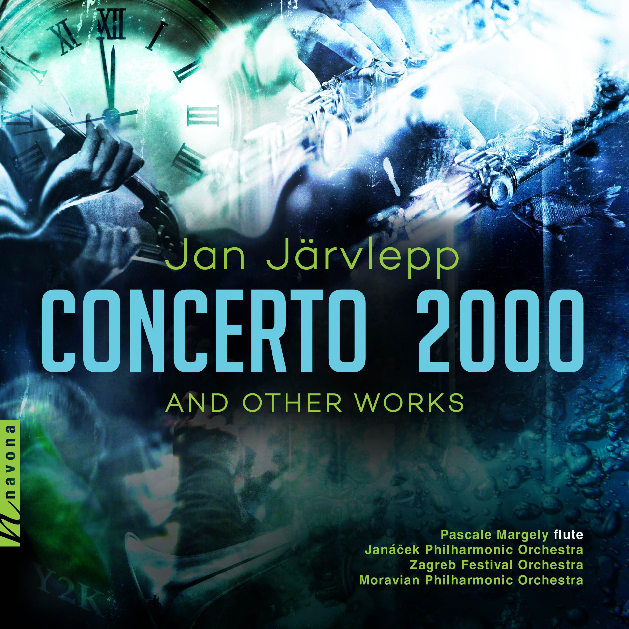 Concerto 2000 - Jan Järvlepp - Album Cover