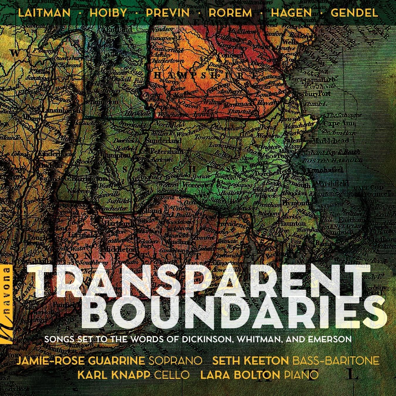 Transparent Boundaries - Jamie-Rose Guarrine - Album Cover