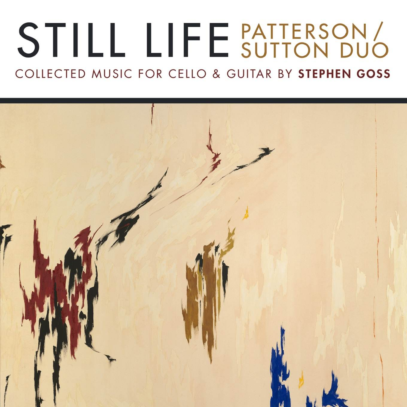 Still Life - Patterson/Sutton Duo - Album Cover