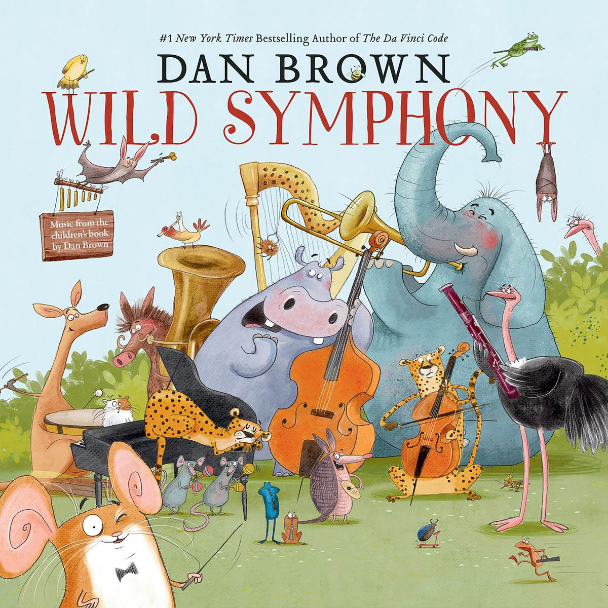 Wild Symphony - Dan Brown - Album Cover