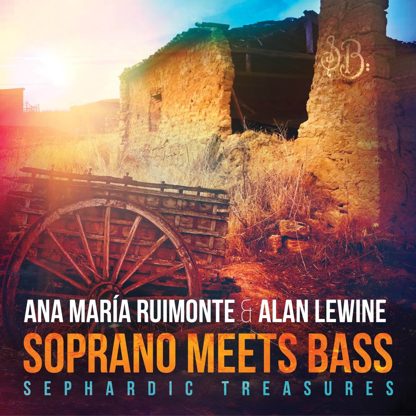 Jewish Spanish music: Soprano Meets Bass album art