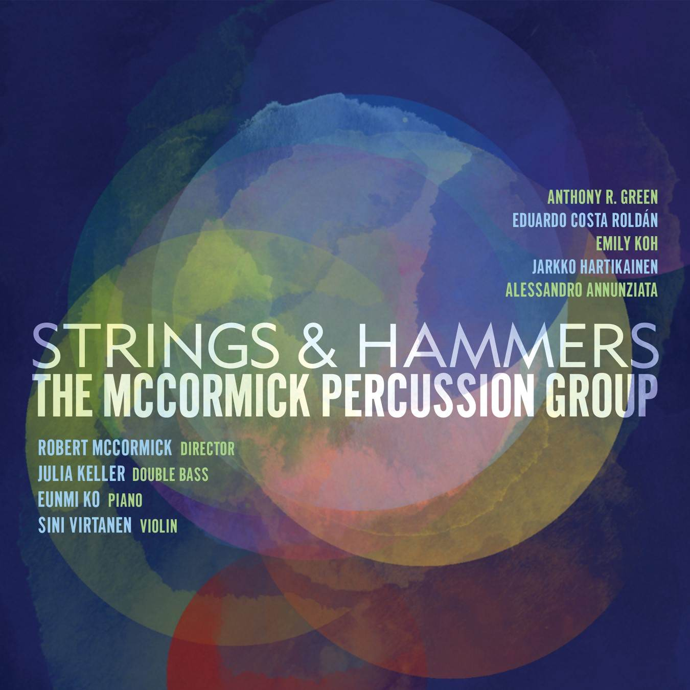 Strings & Hammers - McCormick Percussion Group - Album Cover
