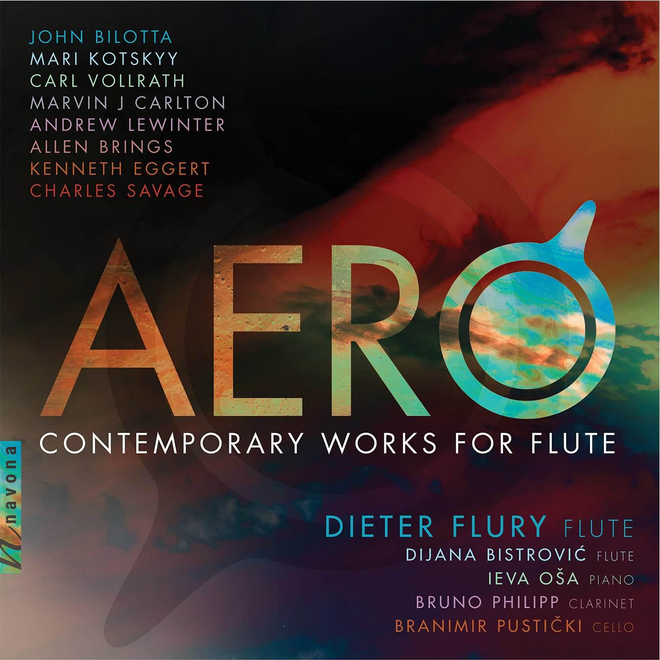 AERO - Dieter Flury - Album Cover