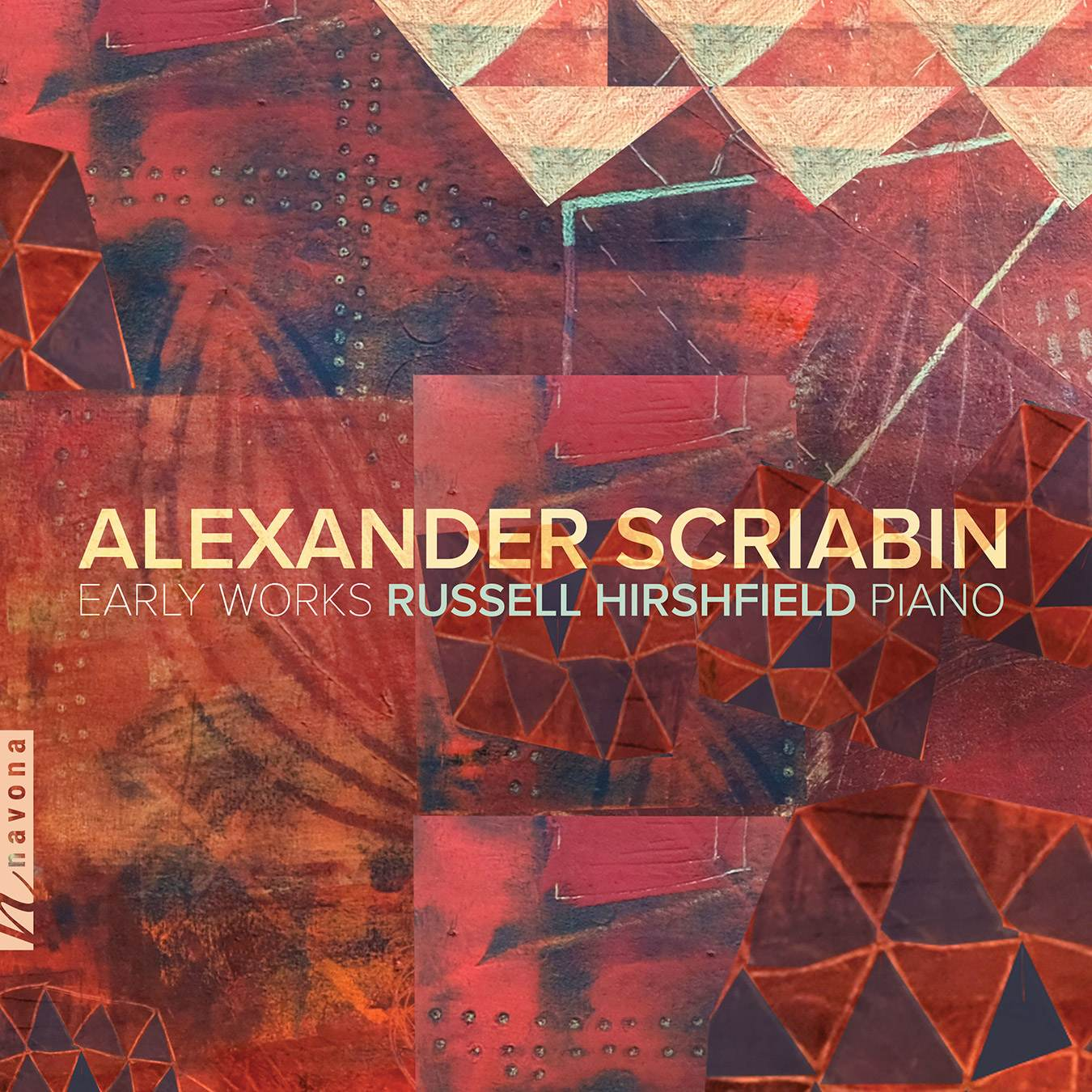 Early Works -Alexander Scriabin- Russell Hirshfield - Album Cover