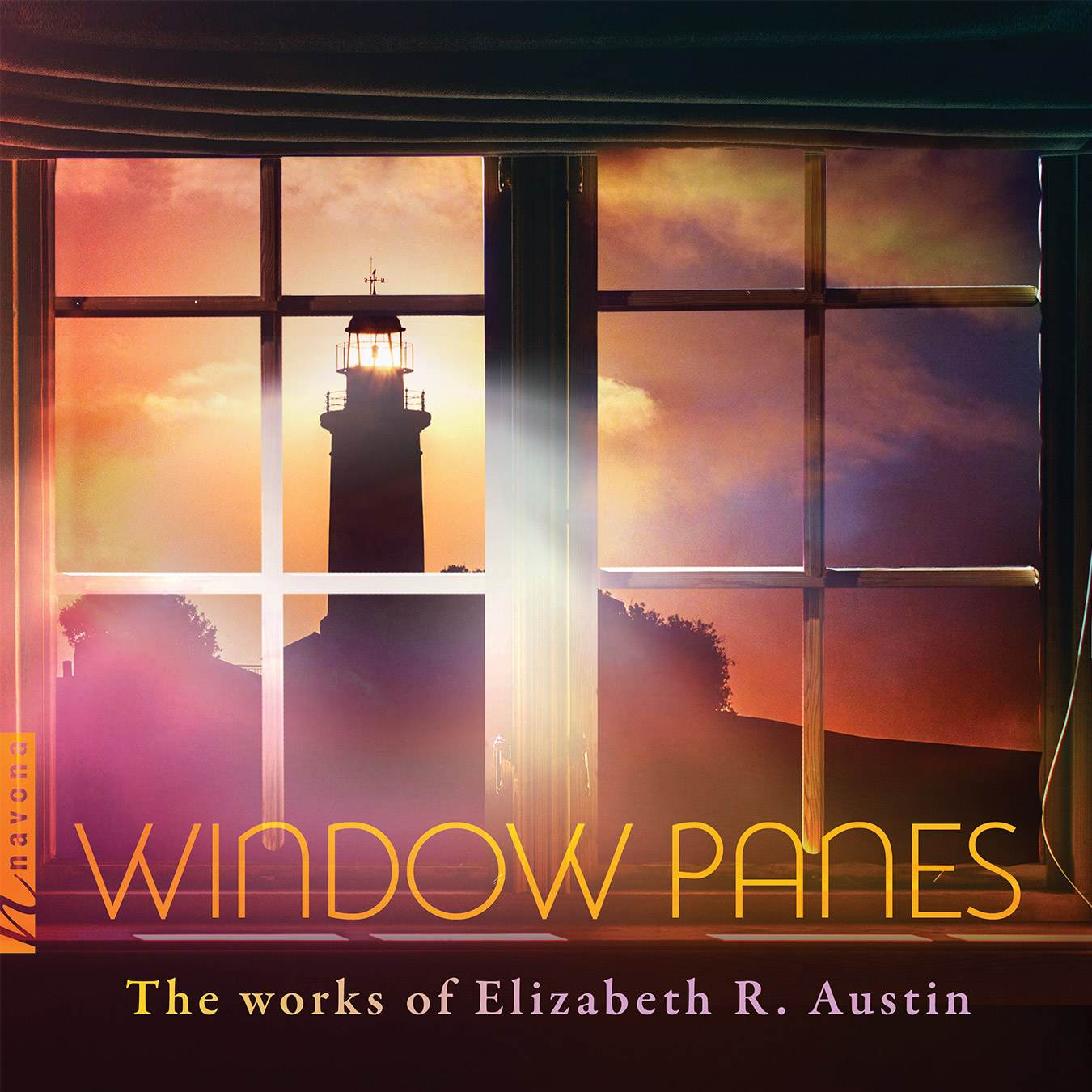 Window Panes - Elizabeth R. Austin- Album Cover