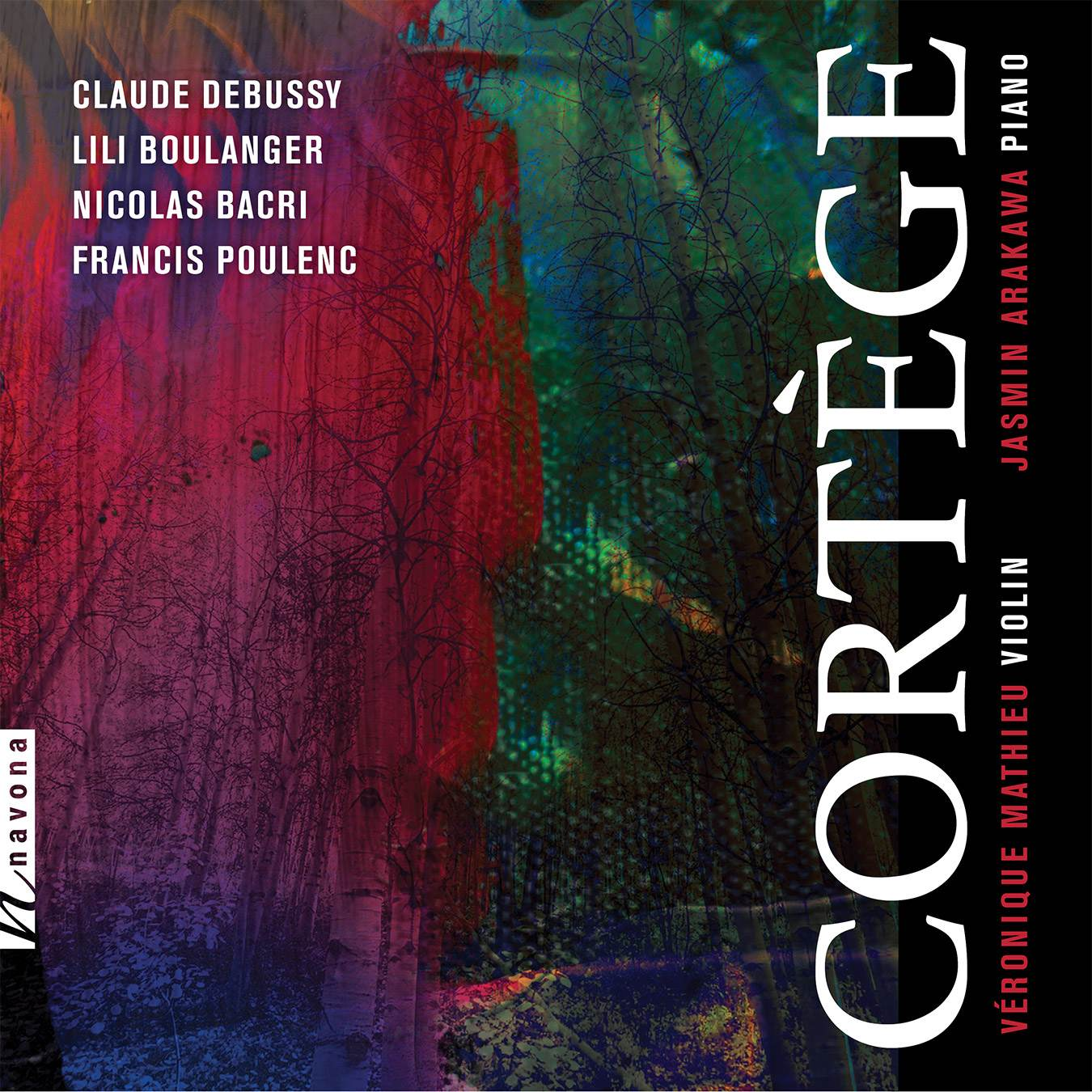 CORTÈGE- Véronique Mathieu and Jasmin Arakawa - Album Cover