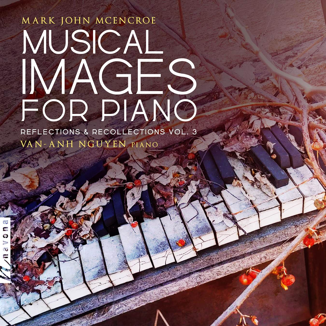 Musical Images for Piano-album cover