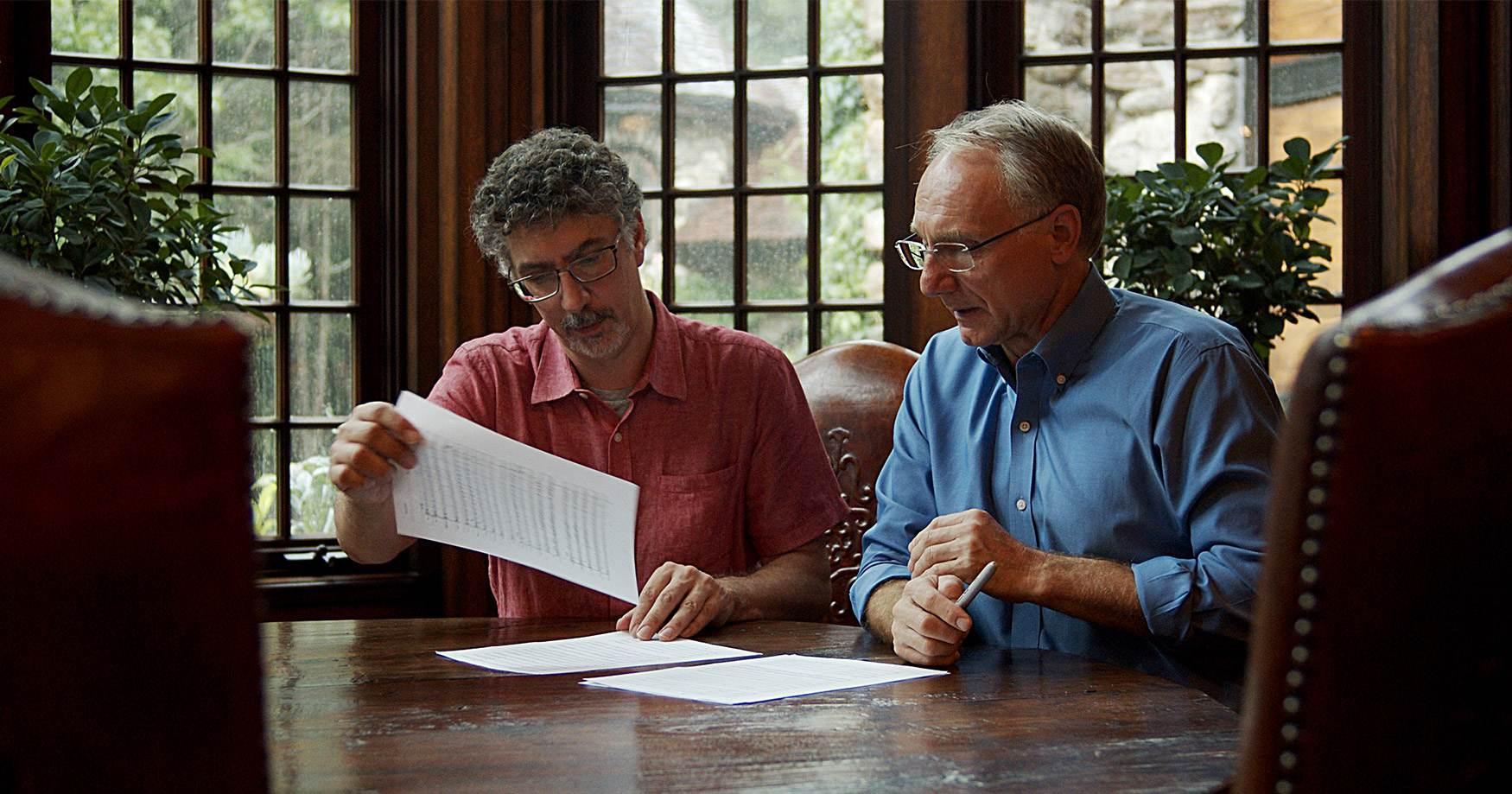 Dan Brown and Bob Lord
