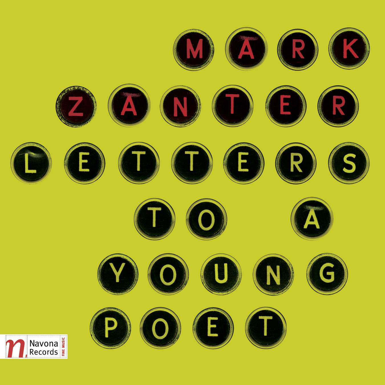 Letters to a young poet - Mark Zanter - Album Cover