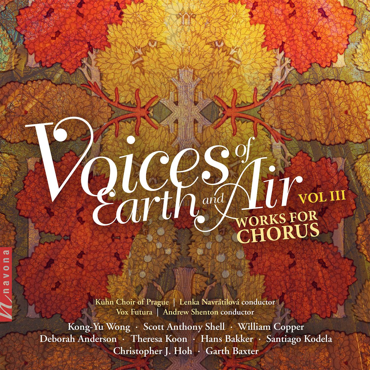 Voices of Earth & Air Vol. III-Various Artists - Album Cover