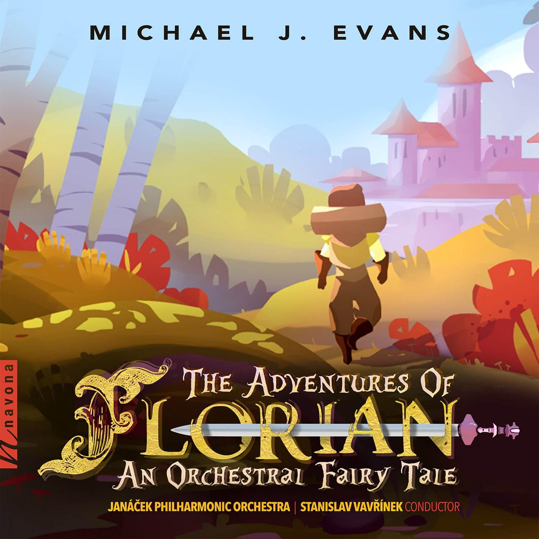 The Adventures of Florian - Michael J Evans - Album Cover