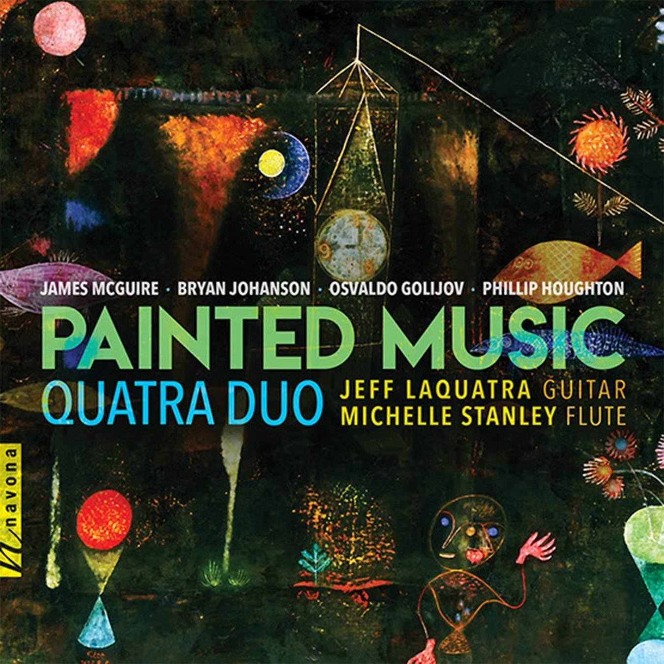 PAINTED MUSIC - Album Cover