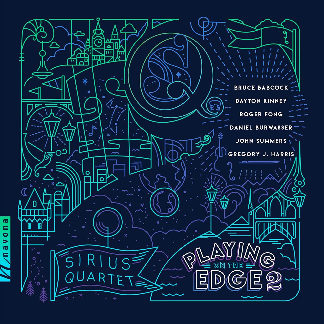 Playing On The Edge 2 - Sirius Quartet - Album Cover