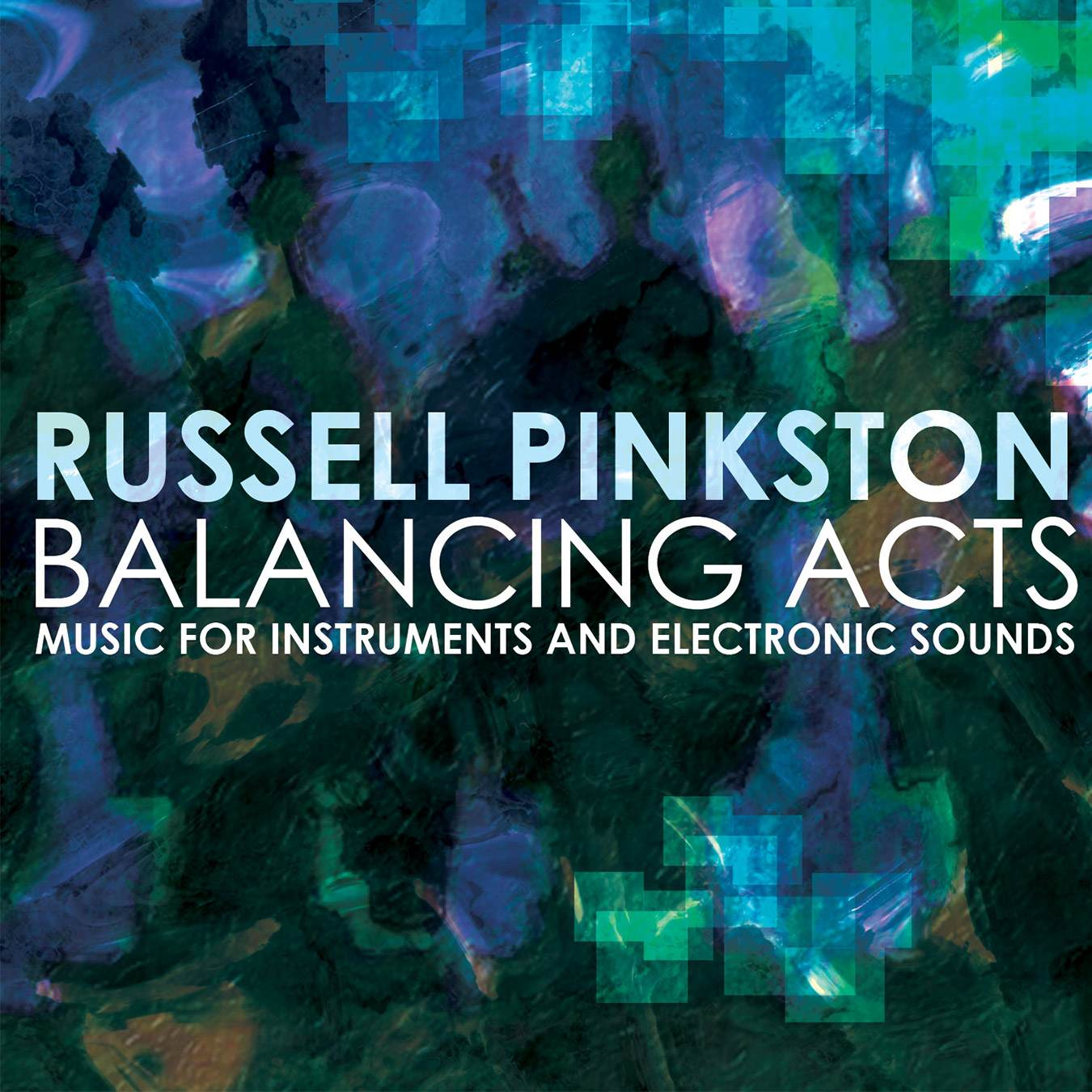 Balancing Act - Russell Pinkston - album cover