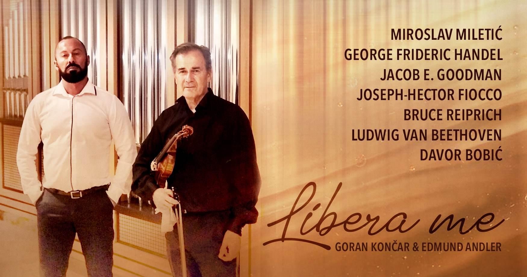 Libera Me event poster