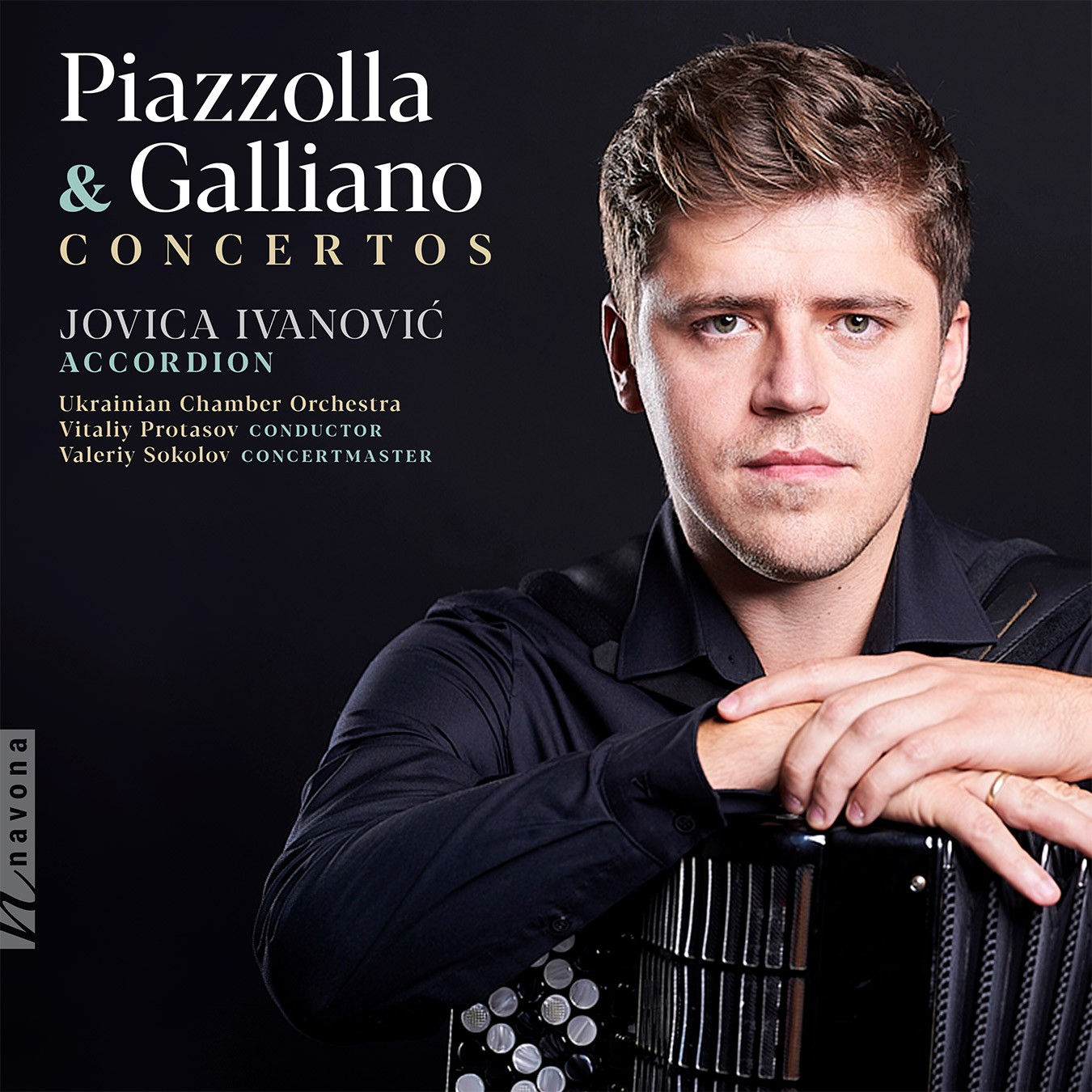 PIAZZOLLA & GALLIANO - Album Cover