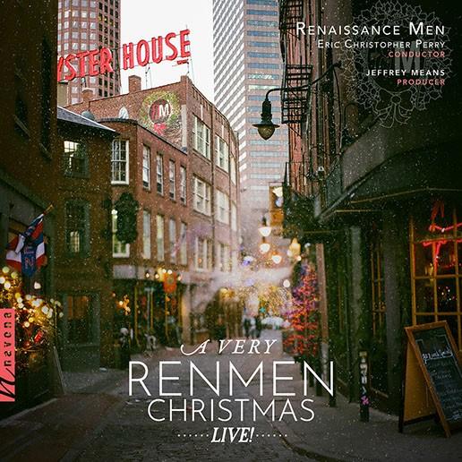 A VERY RENMEN CHRISTMAS: LIVE! - Album Cover