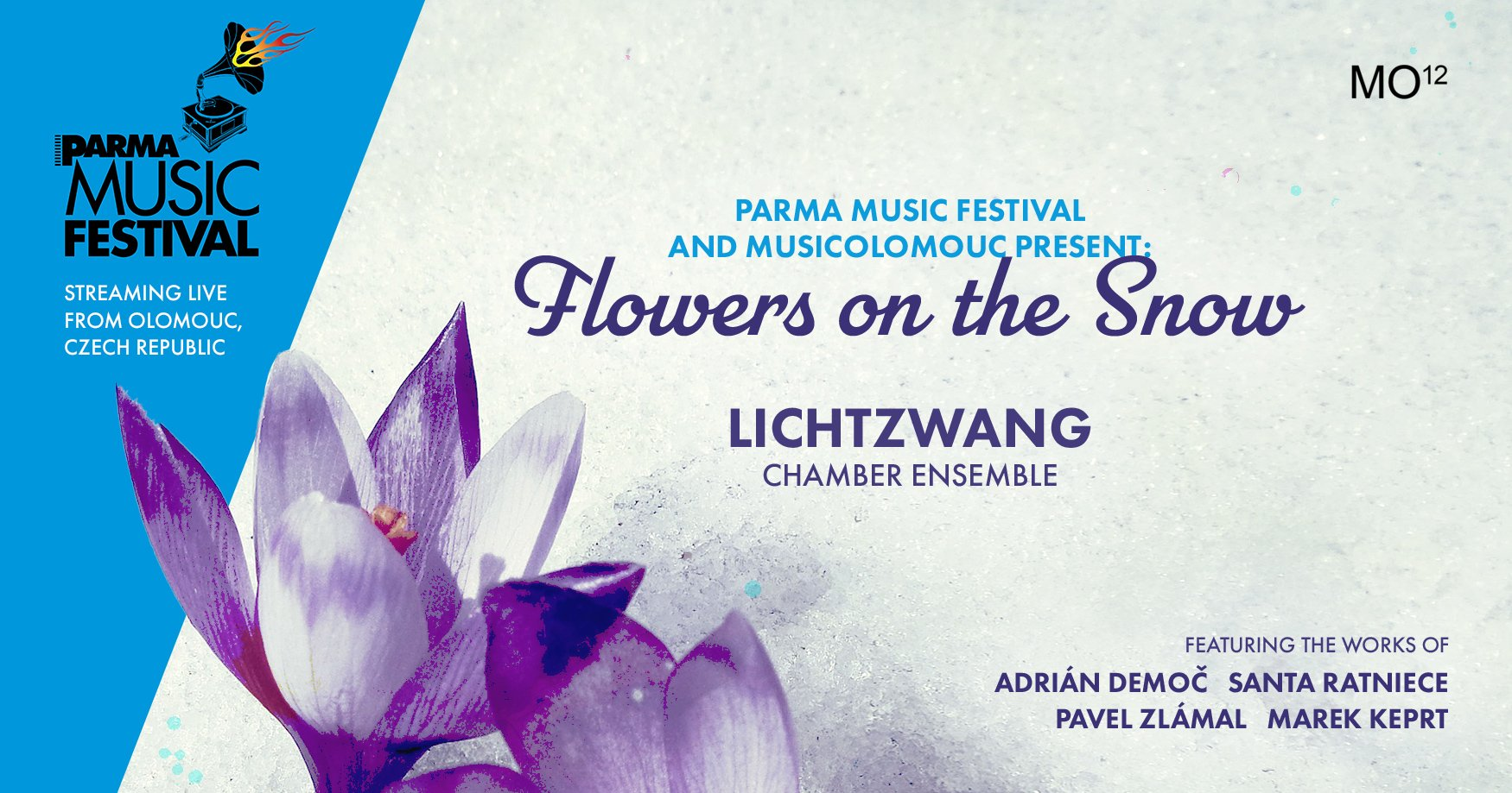 Flowers on the Snow event poster