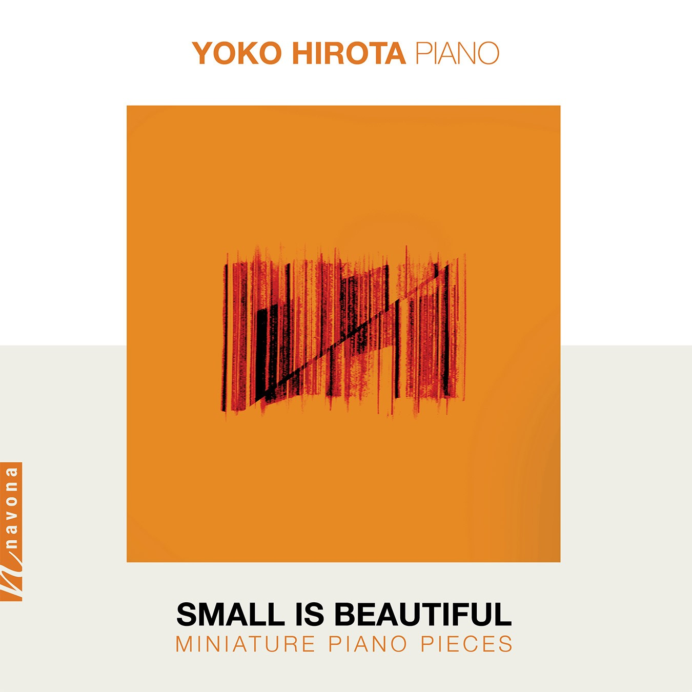 SMALL IS BEAUTIFUL: MINIATURE PIANO PIECES - Yoko Hirota - Album Cover