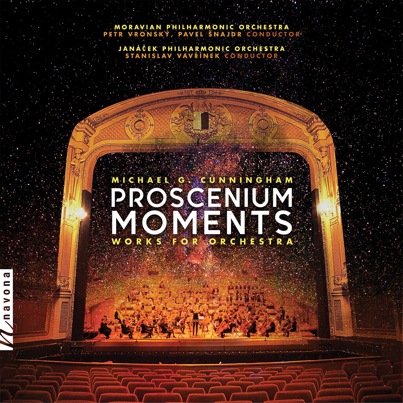 PROSCENIUM MOMENTS - Michael G. Cunningham - Album Cover