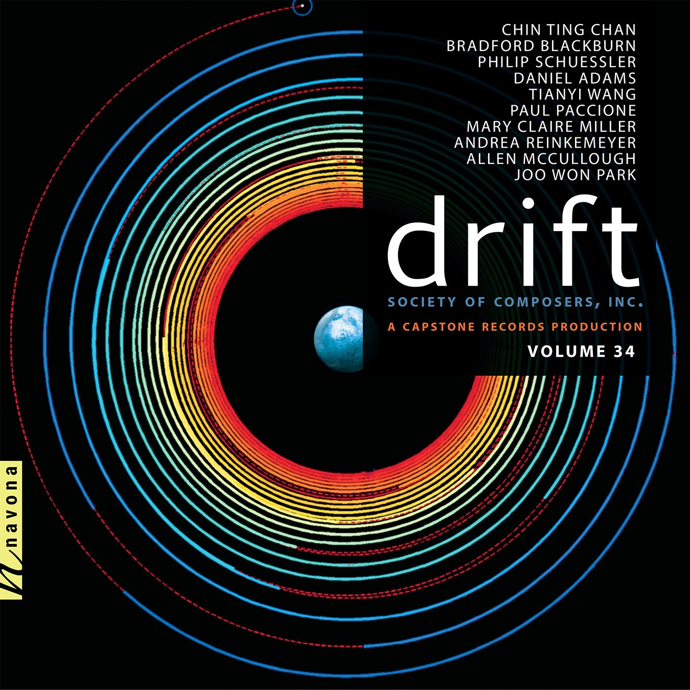 DRIFT - Society of Composers, Inc. - Album Cover