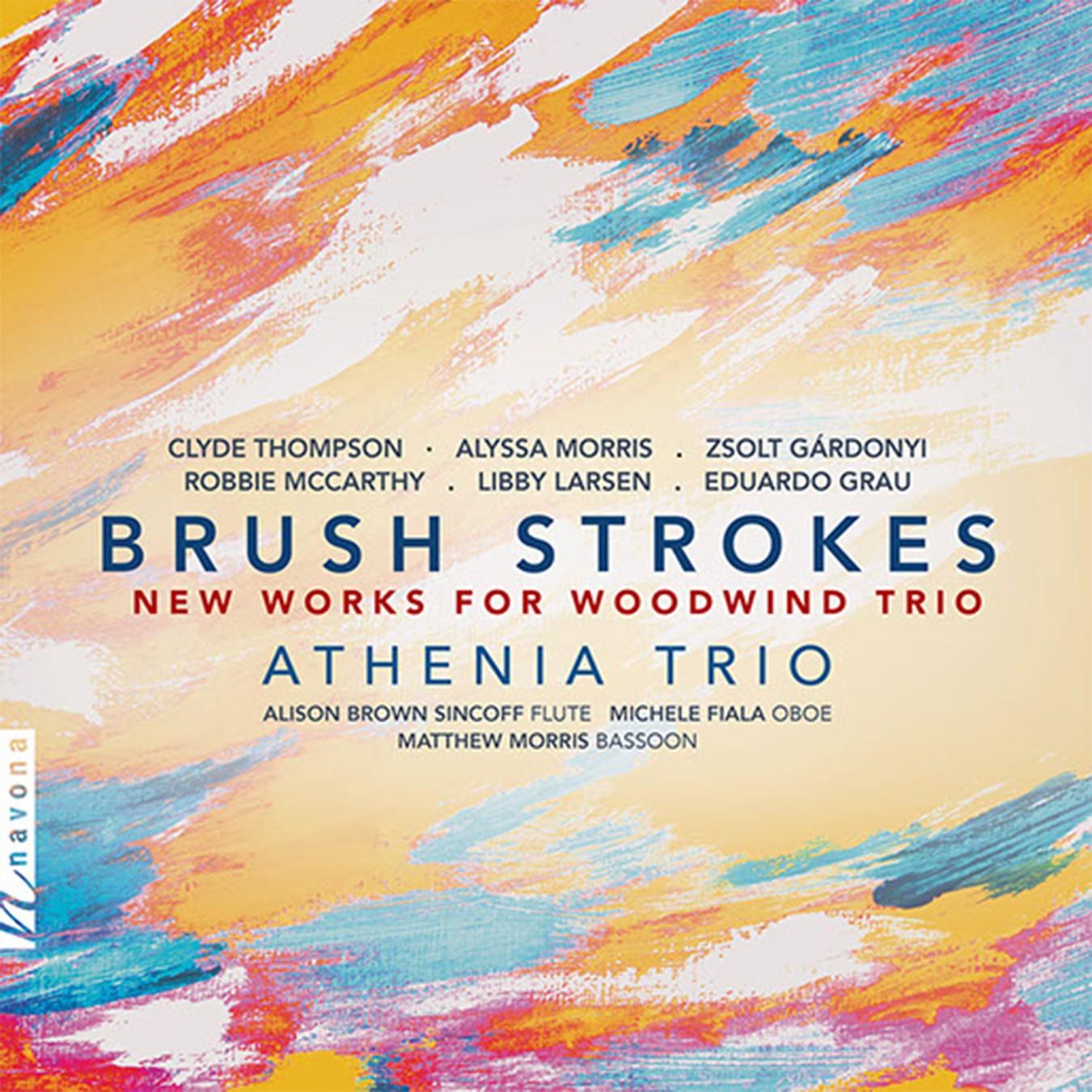BRUSH STROKES - Album Cover