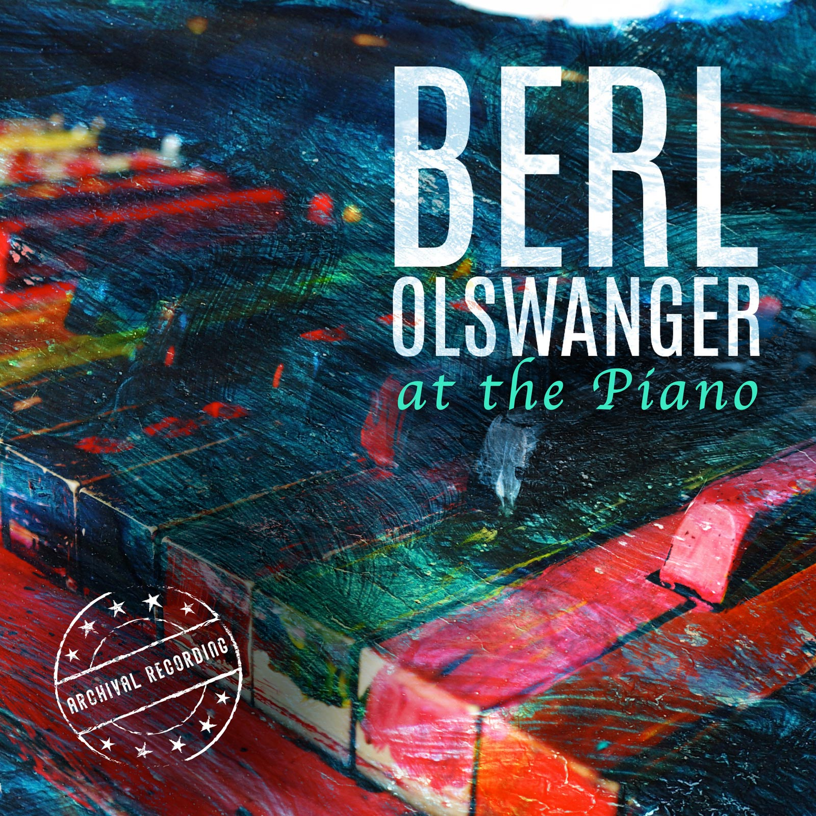 Berl Olswanger at the Piano - Album Cover