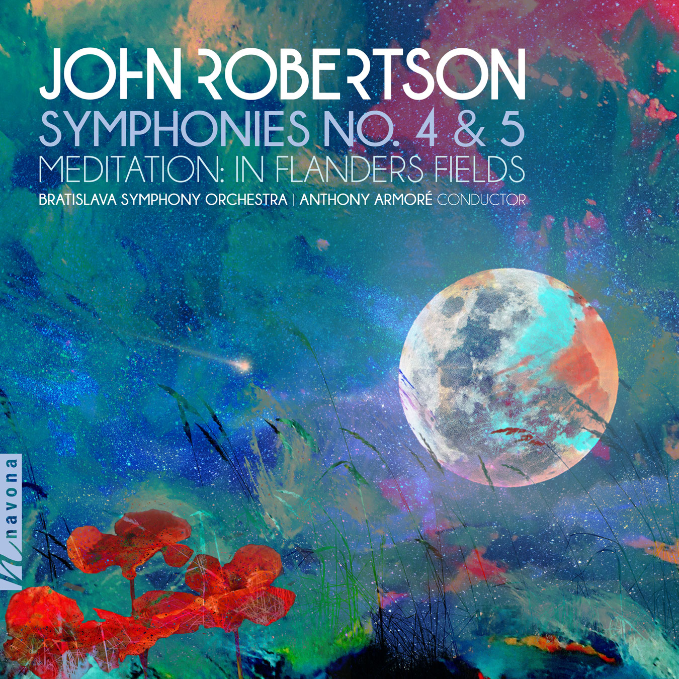 Symphonies No. 2 & 5 - Album Cover