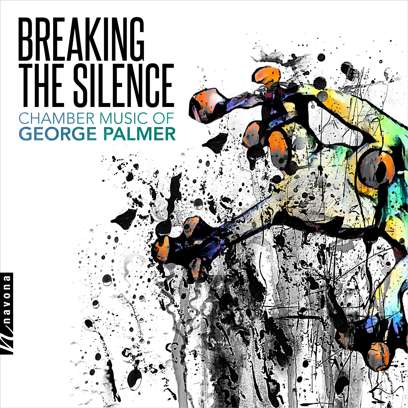 BREAKING THE SILENCE - George Palmer - album cover