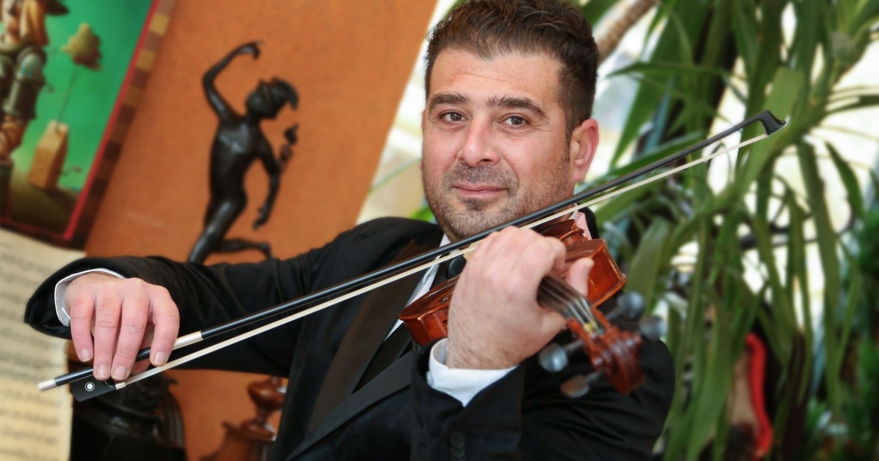 Concertmaster of the Subotica Philharmonic Pal Žiga