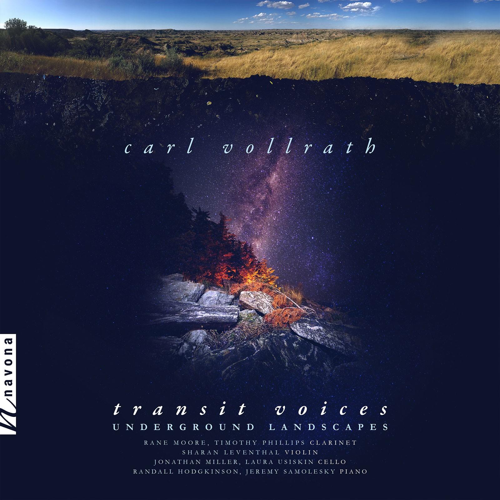 Transit Voices - Carl Vollrath - Album Cover