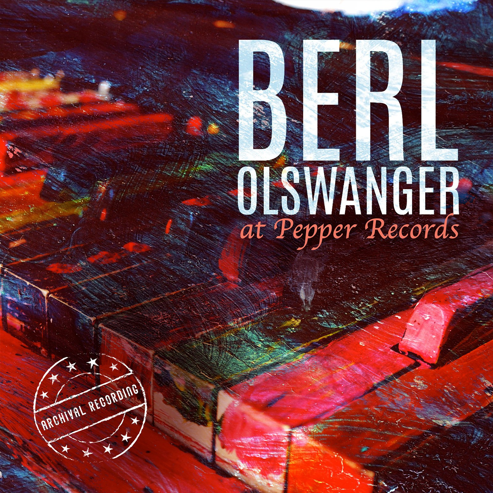 BERL OLSWANGER AT PEPPER RECORDS